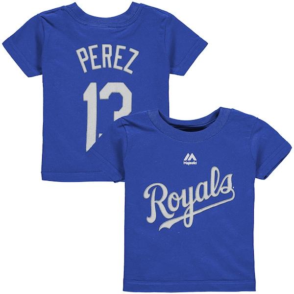 Infant Kansas City Royals Salvador Perez Majesti Cubs jerseys