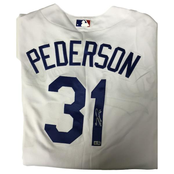 Joc Pederson Autographed Authentic Dodgers Jerse Chicago Cubs jerseys